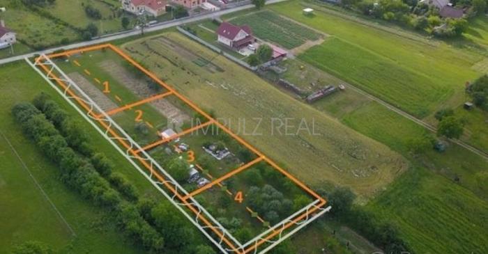 Reality Stavebný pozemok 698m2, Košice-okolie, obec Ďurďošík