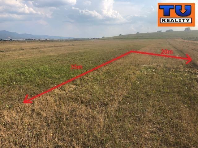 Reality Pekný rovinatý stavebný pozemok o rozlohe 720 m2, obec Cestice. CENA: 34 970,00 EUR