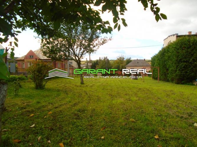 Reality GARANT REAL - EXKLUZÍVNE predaj stavebný pozemok, 878 m2, Župčany, okr. Prešov