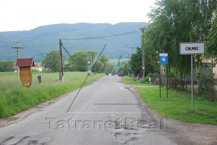 Reality Na predaj veľky pozemok v Chlmci LEN za 3,90 € / m2