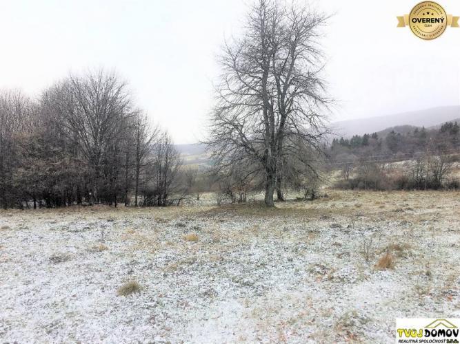 Reality Slnečný pozemok neďaleko Kaľamárky - časť Chrapková, Detva