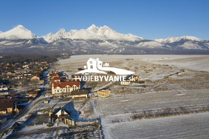 Reality 32 voľných stavebných pozemkov z 38 v Starej Lesnej Vysoké Tatry
