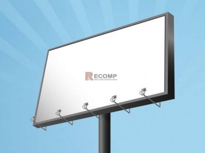 Reality Prenájom pozemkov na reklamné billboardy v Poprade a okolí