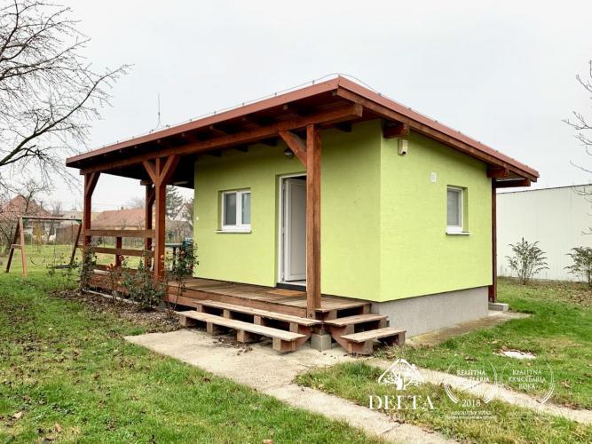 Reality DELTA | Záhradna chata s pozemkom o výmere 1814 m2, Zálesie
