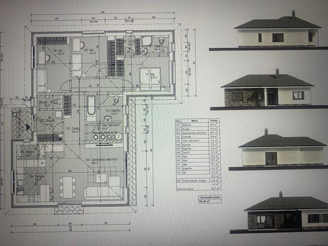 Reality Stavebný pozemok v Obci Malinovo o výmere 584m2 k pozemku projekt RD bungalov