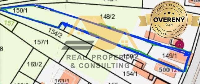 Reality Predám stavebný pozemok v obci Dolný Ohaj