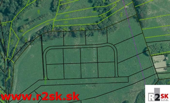 Reality Predáme stavebný pozemok, Divina, 601 m², R2 SK.