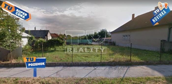 Reality STAVEBNÝ POZEMOK, Šaľa 374m2 16x23m