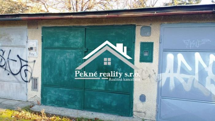 Reality Predaj garáže pod Zvolenským zámkom