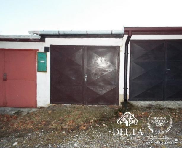 Reality DELTA-Predaj, garáž, Poprad-Matejovce