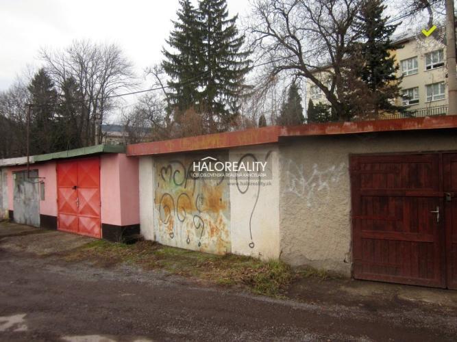 Reality Predaj, garáž Banská Štiavnica - ZNÍŽENÁ CENA - EXKLUZÍVNE HALO REALITY