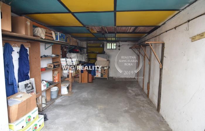 Reality Garáž v centre Čadce (21 m2)
