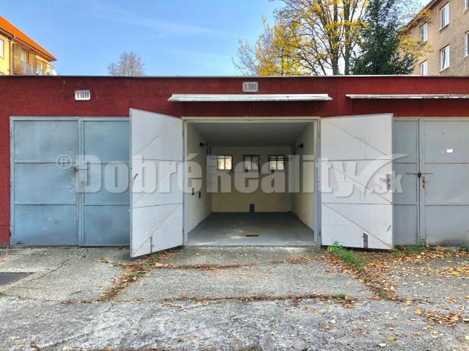 Reality Na predaj garáž A. Rudnaya, Prievidza