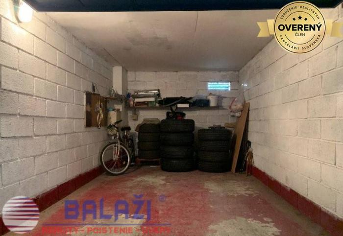 Reality MARTIN Ľadoveň garáž, 16m2