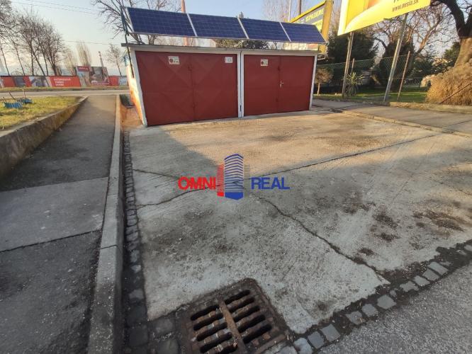 Reality 2x garáž, Doležalova - Rožňavská - možnosť parkovania pred garážami, montážna jama, elek