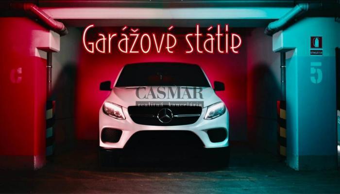 Reality CASMAR RK - Garážové státie na predaj v OC RETRO - Ružinov